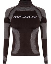 MISBHV 'sport Active Classic' Long-sleeved Top - Brown