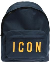 DSquared² - Dsquared Icon Backpack Navy - Lyst