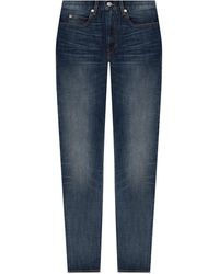 Isabel Marant Jeans With Worn Effect Blue