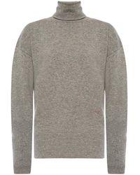 Victoria Beckham - Cashmere Turtleneck Sweater - Lyst