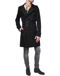 Burberry The Sandringham Short Trench Coat, Brand - Black