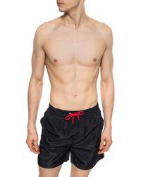 DIESEL Shorts With Logo - Black