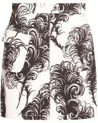 Moschino Denim Skirt - White