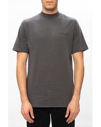 Samsøe & Samsøe T-shirt With Logo - Gray