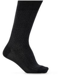 Ferragamo Patterned Socks - Grey