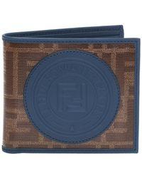 Fendi - Bi-fold Wallet With Logo - Lyst