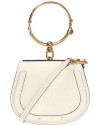 Chloé 'nile' Shoulder Bag - Natural