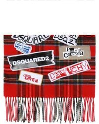DSquared² - Logo-patched Scarf - Lyst