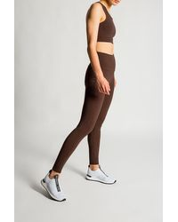 MICHAEL Michael Kors Leggings With Logo - Brown