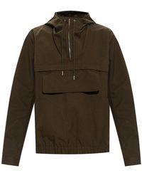 Helmut Lang Hooded Jacket - Green
