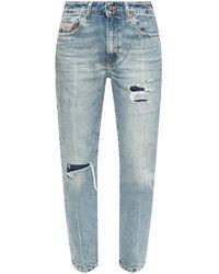 DIESEL 'd-joy' Distressed Jeans Blue