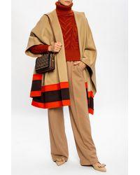 Agnona Camel Fiber Pants - Natural