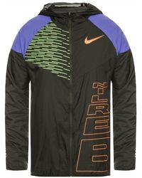 Nike 'windrunner Berlin' Running Jacket - Black