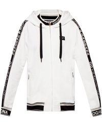 Dolce & Gabbana - Branded Hoodie - Lyst