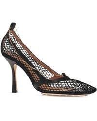 Bottega Veneta 'stretch' Court Shoes With Chain Black
