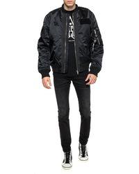 DIESEL Printed Sweatshirt - Black