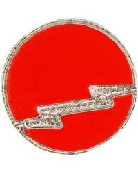 Isabel Marant Round Pin - Multicolour