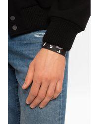 Off-White c/o Virgil Abloh Logo Bracelet - Black