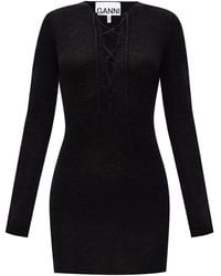 Ganni Wool Jumper Black