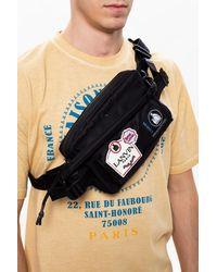 Lanvin Branded Belt Bag - Black