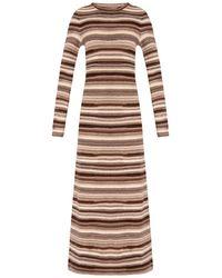 Chloé Cashmere Dress - Brown