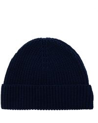 AMI Knitted Hat - Blue