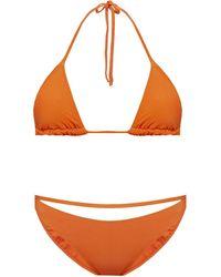 Jacquemus Two-piece Swimsuit Orange