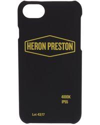 Heron Preston Sign Iphone X Case - Black