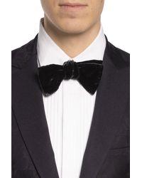 Paul Smith Velvet Bow Tie Black