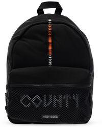 Marcelo Burlon Backpack With Logo Black