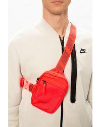Nike Branded Belt Bag - Red