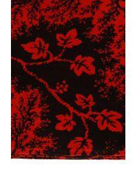 Alexander McQueen Logo Towel Unisex Red