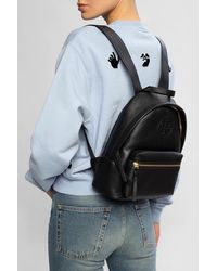 Tory Burch Perry Bombe Small Backpack - Black
