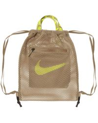 Nike Mesh Gym Sack Green