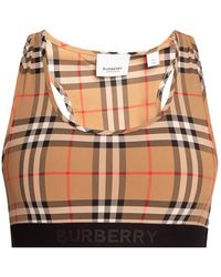 Burberry Cropped Top Beige - Natural