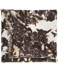 Balmain - Patterned Scarf - Lyst