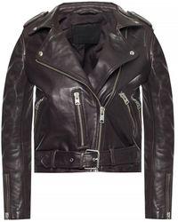 AllSaints 'balfern' Leather Jacket - Black