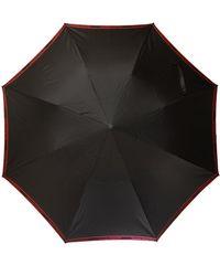 Alexander McQueen Logo Umbrella Unisex Black