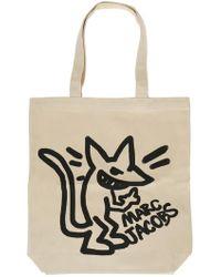 Marc Jacobs - Printed Shopper Bag - Lyst