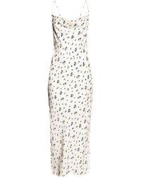 Samsøe & Samsøe Floral-printed Dress White