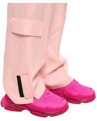 Balenciaga Triple S Clear Sole Trainers - Pink