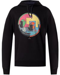PS by Paul Smith Hoodie With Logo - Black