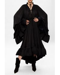 Lanvin Dress With Distinctive Sleeves Black