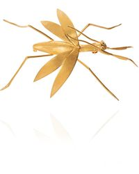 Loewe Brass Brooch Gold - Metallic