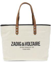 Zadig & Voltaire Shopper Bag Beige - Natural