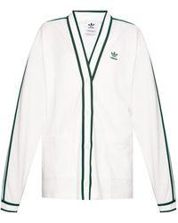 adidas Originals Sweatshirt With Logo White