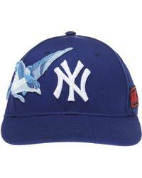 Gucci Appliquéd Baseball Cap - Blue