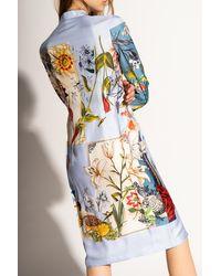 Ferragamo Silk Dress - Multicolour