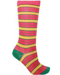 Marni Patterned Socks - Multicolour