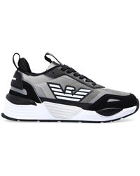 Emporio Armani Sneakers With Logo Black